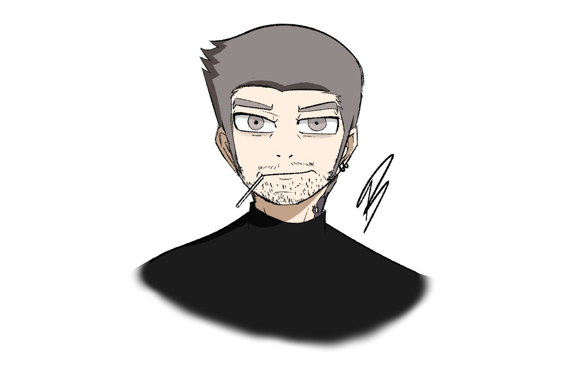 Iwai without his hat because I never seen him without that #persona5 <br>http://pic.twitter.com/DQnRCZoA7u
