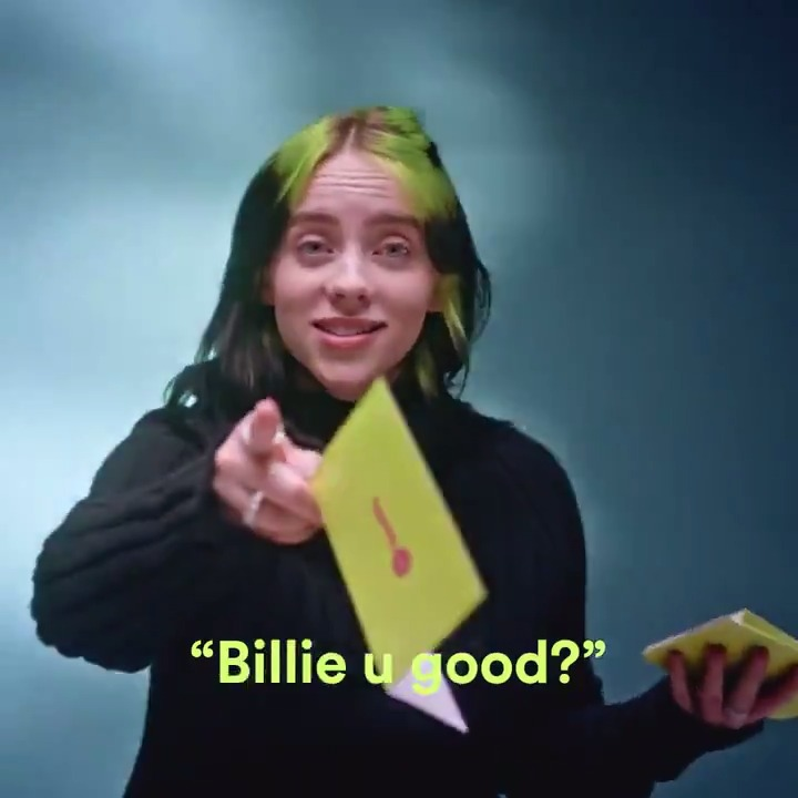 Spotify users make the most interesting playlists about their favorite artists. We shared some of the best with @billieeilish #SpotifyWrapped