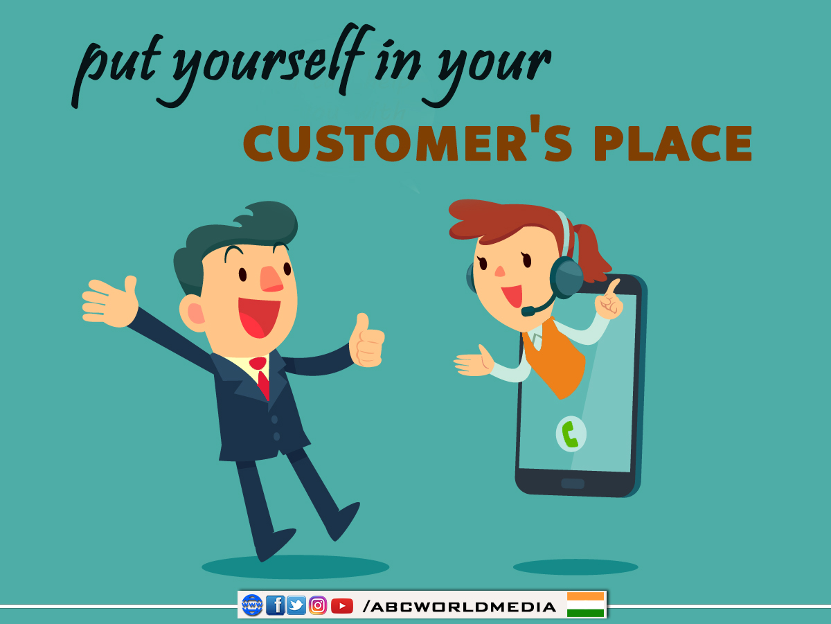 Put yourself in your customer's place  #FridayThoughts #FridayFeeling #FridayMotivation #Quotes #MorningQuotes <br>http://pic.twitter.com/gjl9E54G9j
