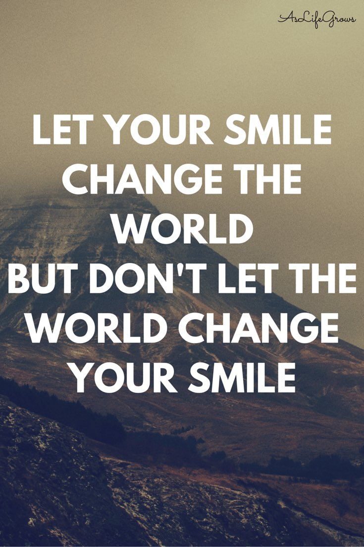 Many of us forget how much power a smile can have. We shouldn't let others and our situation determine our smile. Our smile can change and affect others in a positive way. I truce to do this everyday and with my business. #smile #ChangeTheWorld <br>http://pic.twitter.com/93i7ShWwXf