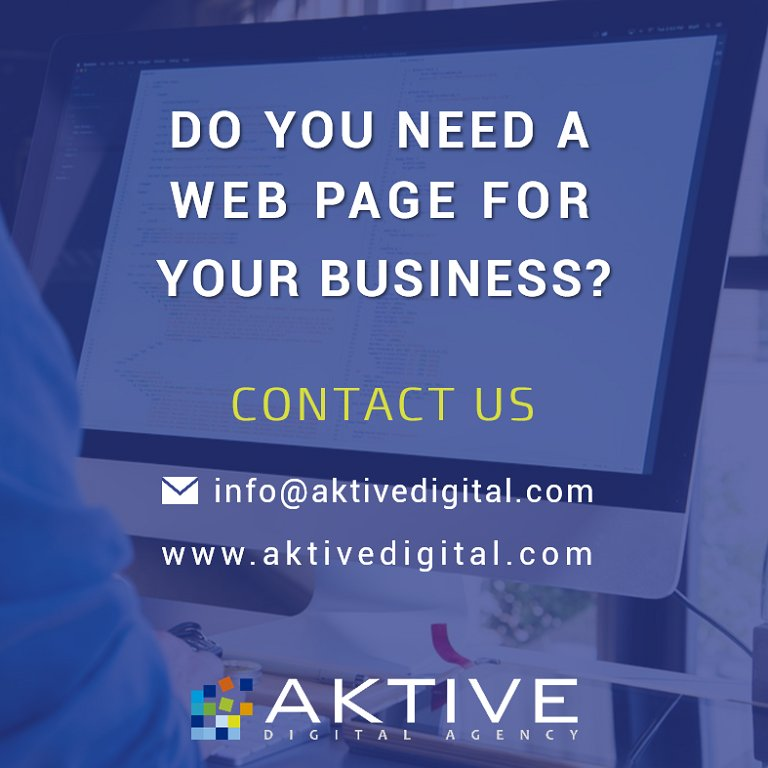 Make your brand, product or entrepreneurship known and increase sales with a #WebSite designed according to needs of your business, contact us and request a quote ✉️ info@aktivedigital.com 💻http://bit.ly/2OkhGbX . #WebServices #DigitalMarketing #AktiveDigitalAgency