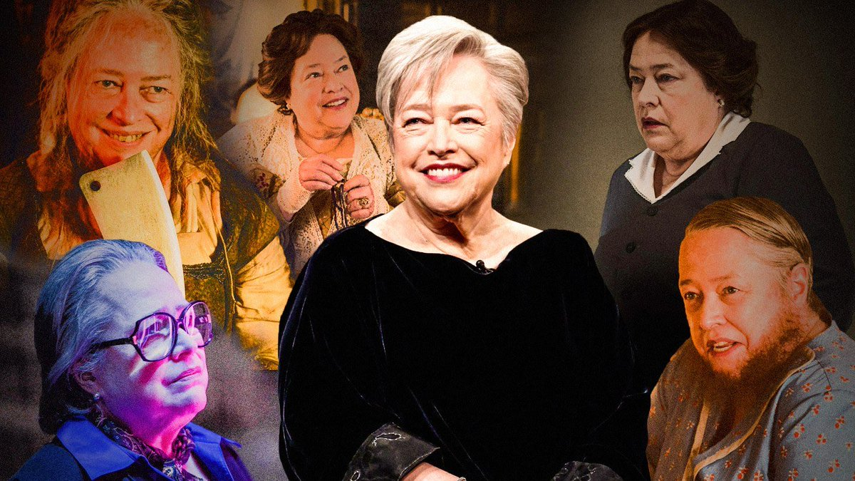 In a recent interview, Kathy Bates hints at returning for the 10th Season of AHS. With producer Brad Falchuk wooing her return with a bouquet of flowers. #AHS