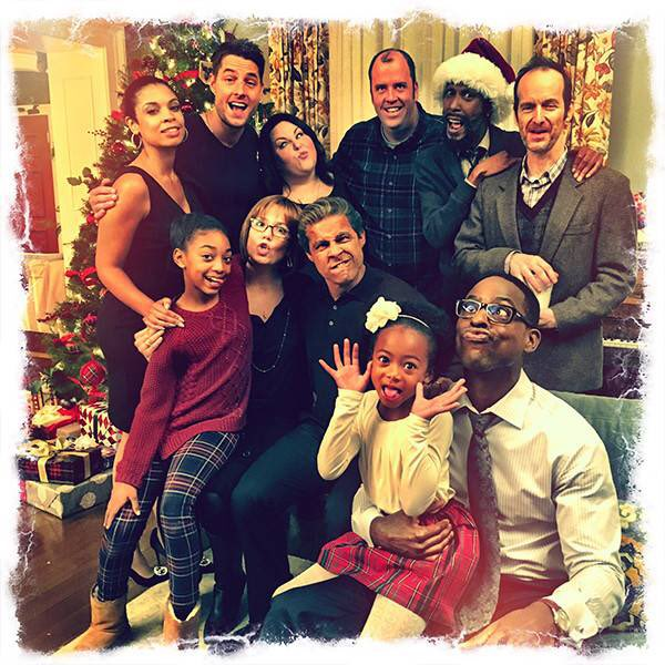 ThisIsUs getting into the Holiday spirit when you realize Christmas is less than two weeks away! Are you ready?? #ThisIsUs #TBT #HolidaySpirit🎄🎅🏼🎁🤪