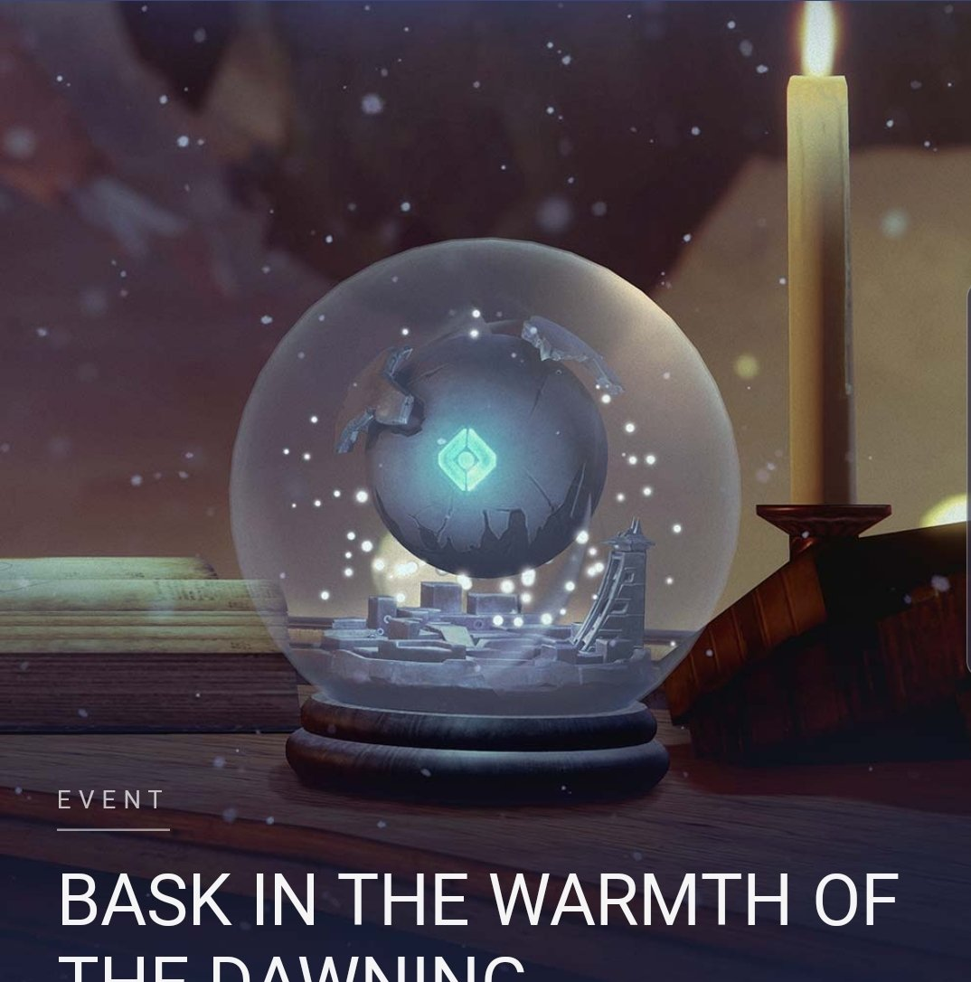 Hey @Bungie,   I would totally spend real money on this snowglobe if you had it in the Bungie store.. ...just saying. #Dawning2019 @A_dmg04 @DeeJ_BNG @Cozmo23 @DestinyTheGamepic.twitter.com/A9hVtsAtve
