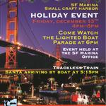 Image for the Tweet beginning: The San Francisco Marina Small