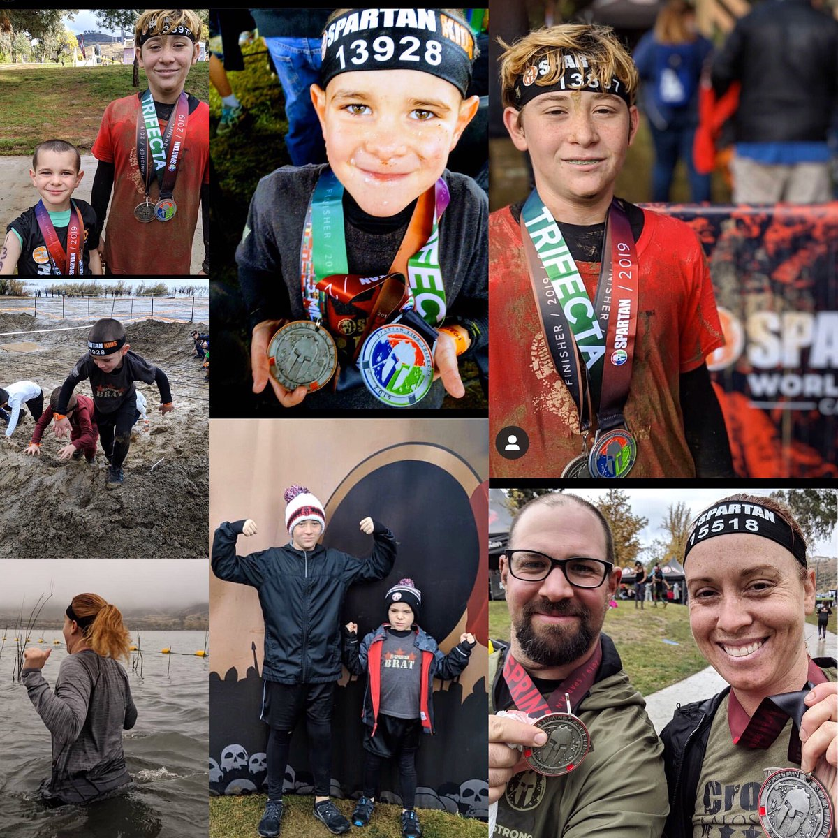 Our very own Phillips Family loving the Spartan Sprint 2019. Train hard and have fun! #CrossFitFamily<br>http://pic.twitter.com/iRwwmQsLFS