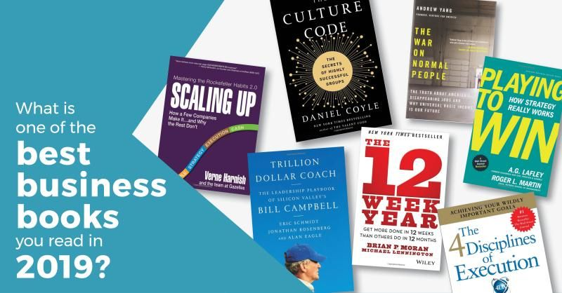 In the spirit of '#CEOs helping CEOs succeed', we reached out to some Members & Group Leaders & asked them to share one of the best business books they read in 2019 ... If you are looking for a great read, or gift, this list is an excellent place to start: https://buff.ly/2YFxp7c