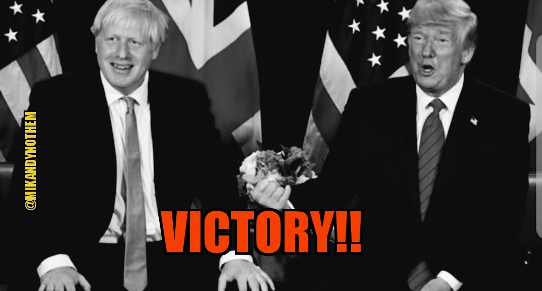 Boris Johnson has HUGE victory as citizens of Britain send a message to liberal Labour Party loud and clear giving Conservatives green light to Brexit. Trumps influence has traveled across the pond. @realDonaldTrump @BorisJohnson #UKElection #Brexit #MAGA #FoxNews #FridayFeeling