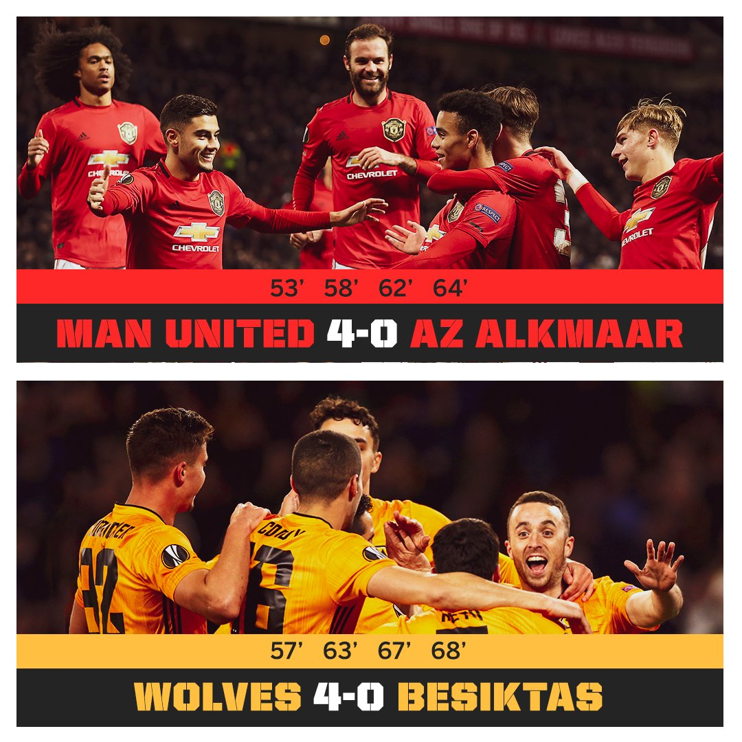 Man United 🤝 Wolves