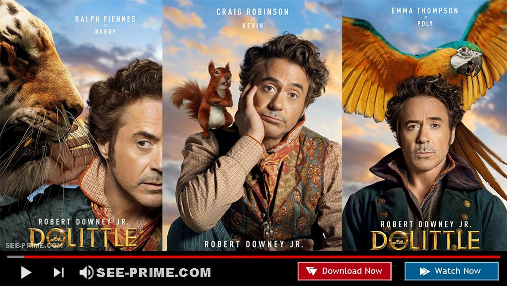 Watch Dolittle Full Movie 2020 Sub English Dolittle Watch Twitter