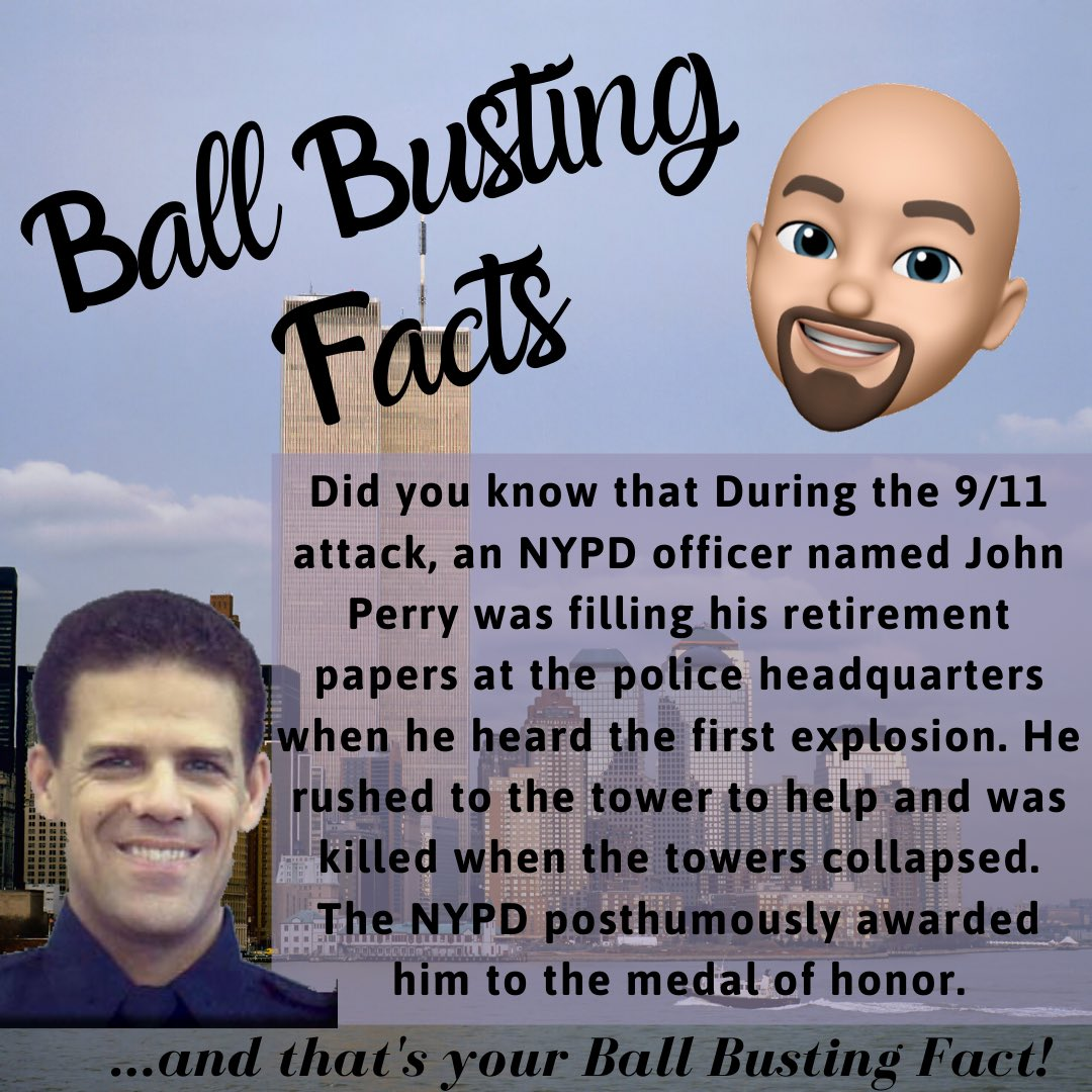 ballbustingfactsGive us your thoughts COMMENT BELOW and FOLLOW US 👉🏻 @ballbustingfacts 👈🏻for your daily dose of amazing facts. #911anniversary #nyfd🚒#nypd #terrorist #september11memorial #neverforget #neverforget911 #neverforget🇺🇸#heroic #hero #bravesoul #brave #courageous