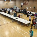 Image for the Tweet beginning: Counting in the #Reigate constituency
