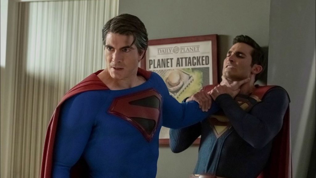 DCTV's sprawling, ambitious crossover #CrisisOnInfinteEarths is creatively uneven, but its endearing nostalgia easily outweighs its flaws... bit.ly/2RO97GO