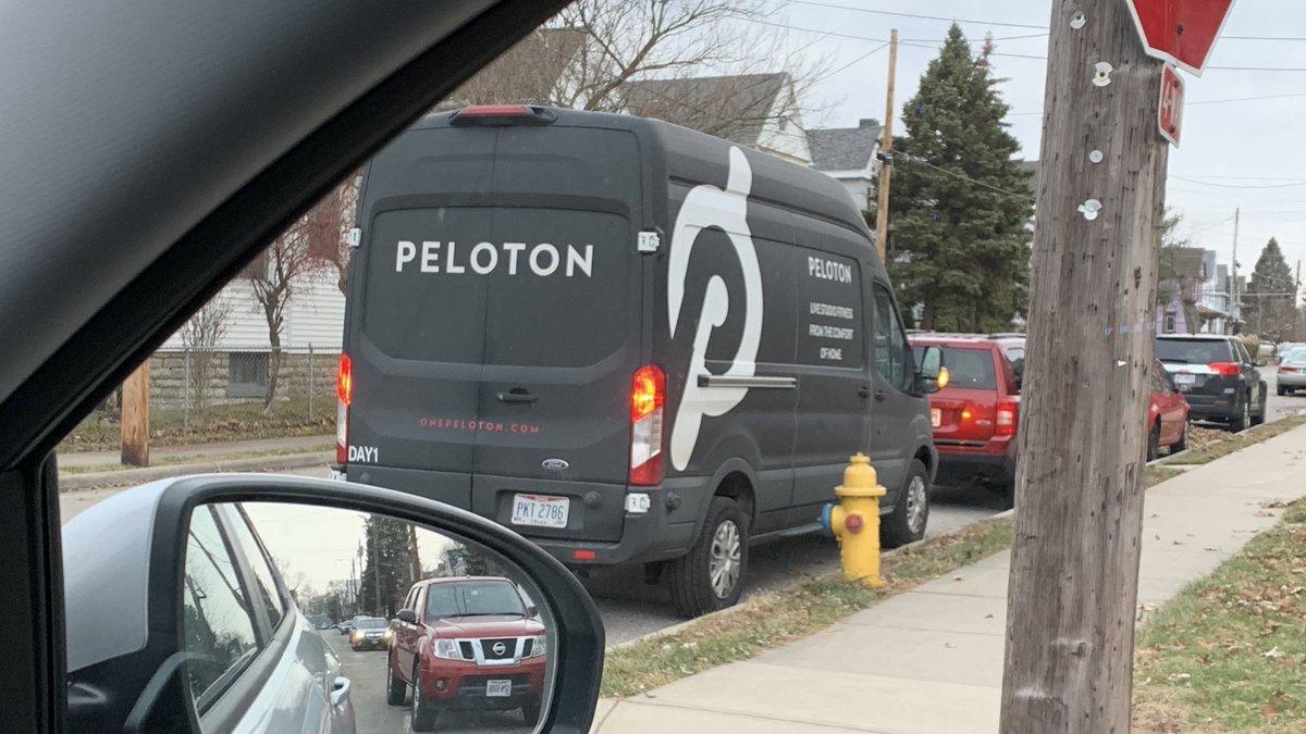 Well there goes the neighborhood. #Peloton