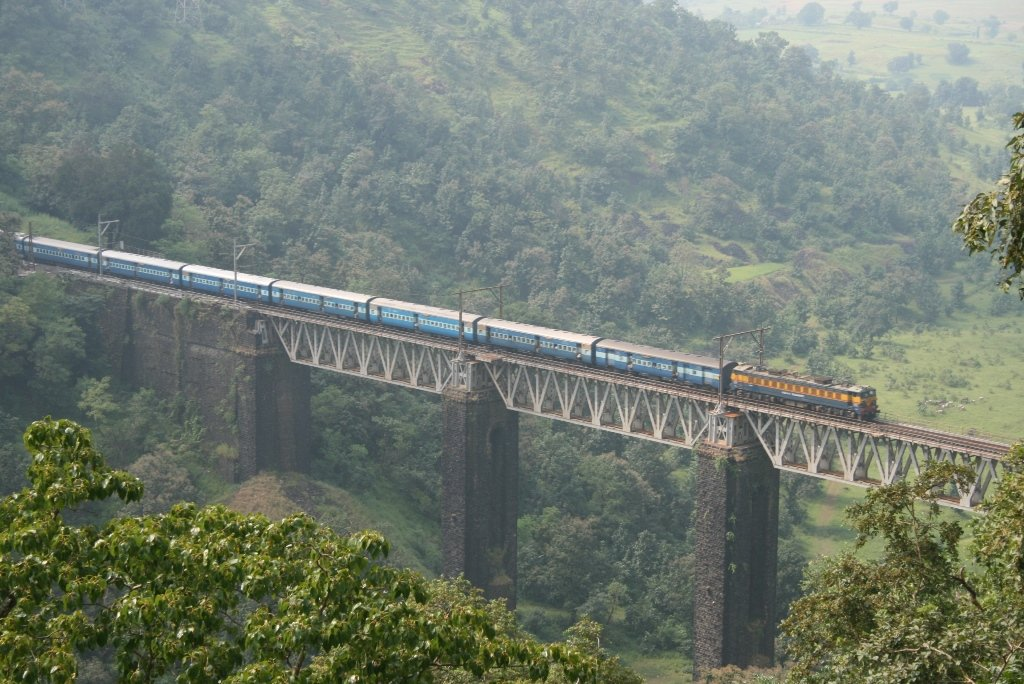 Image result for kasara ghat train