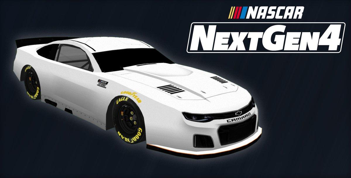 Here's that tasteful 3/4 view.  #NextGen4 #NASCAR <br>http://pic.twitter.com/V3VwkH40lV