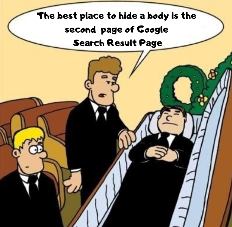 Because rarely anyone would check page 2! Don't be dead meat, get your rankings high with #ValueHits!#KeywordsRanking #GrowWithValueHits #DigitalMarketing #SocialMedia #SearchEngineMarketing #Advertising #Adwords #Leads #StartupBusiness