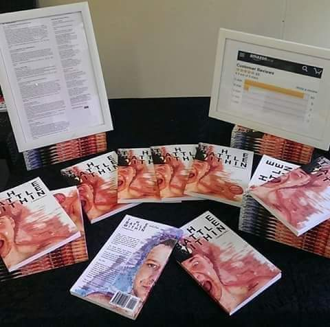 Seasons greetings  How about a signed or personalised copy of the battle within as a gift for someone.   World wide postage. Please comment below or DM for order details. <br>http://pic.twitter.com/M0cgHraBUz