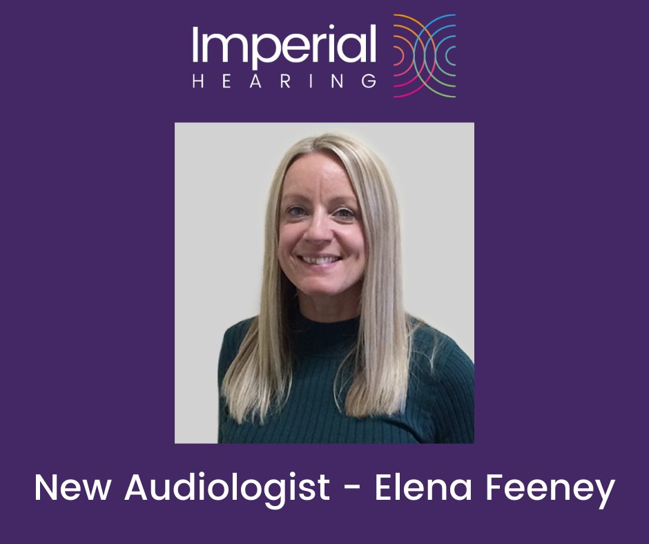 We're pleased to welcome Elena Feeney, Audiologist to the Imperial Hearing team. Also, Sarah Moult and Philip Egan join Imperial as ear wax technicians. http://www.imperialhearing.com #growingteam #independentbusiness #audiology #hearingsupportpic.twitter.com/U6zF48qtQt