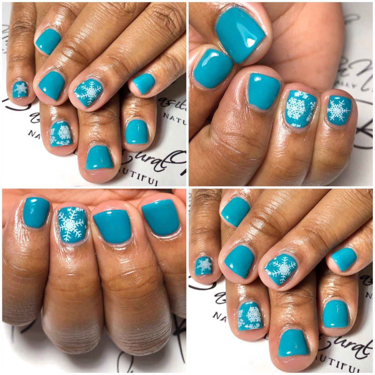 Baby it's cold outside  BNNails of the Day Gel polish manicure designed to perfection!#NEWDesigns pic.twitter.com/vW2NHsI3oZ