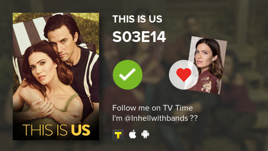 Instead of studying I watched episode S03E14 of This Is Us! #thisisus  #tvtime https://tvtime.com/r/1f47u