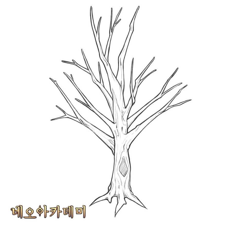 [나무 그리기 팁] 네오아카데미에서 배포하는 자료는 크기 조절, 배치, 비율 등을 수정하셔도 OK! 개인작은 물론 커미션, 외주 등에도 자유롭게 사용해주세요.😄  #네오아카데미 #나무 #튜토리얼 #자연