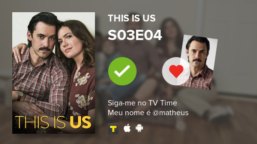 I've just watched episode S03E04 of This Is Us! #thisisus  #tvtime https://tvtime.com/r/1f47Y