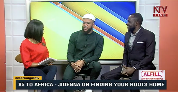 In 85 to Africa I talk about environmental conservation. By 2050, they say, Lake Nalubaale is supposed to have too much trash that will kill the life in it. It is up to us, the gardeners of this planet to make sure that we clean it up - @Jidenna #MorningAtNTV