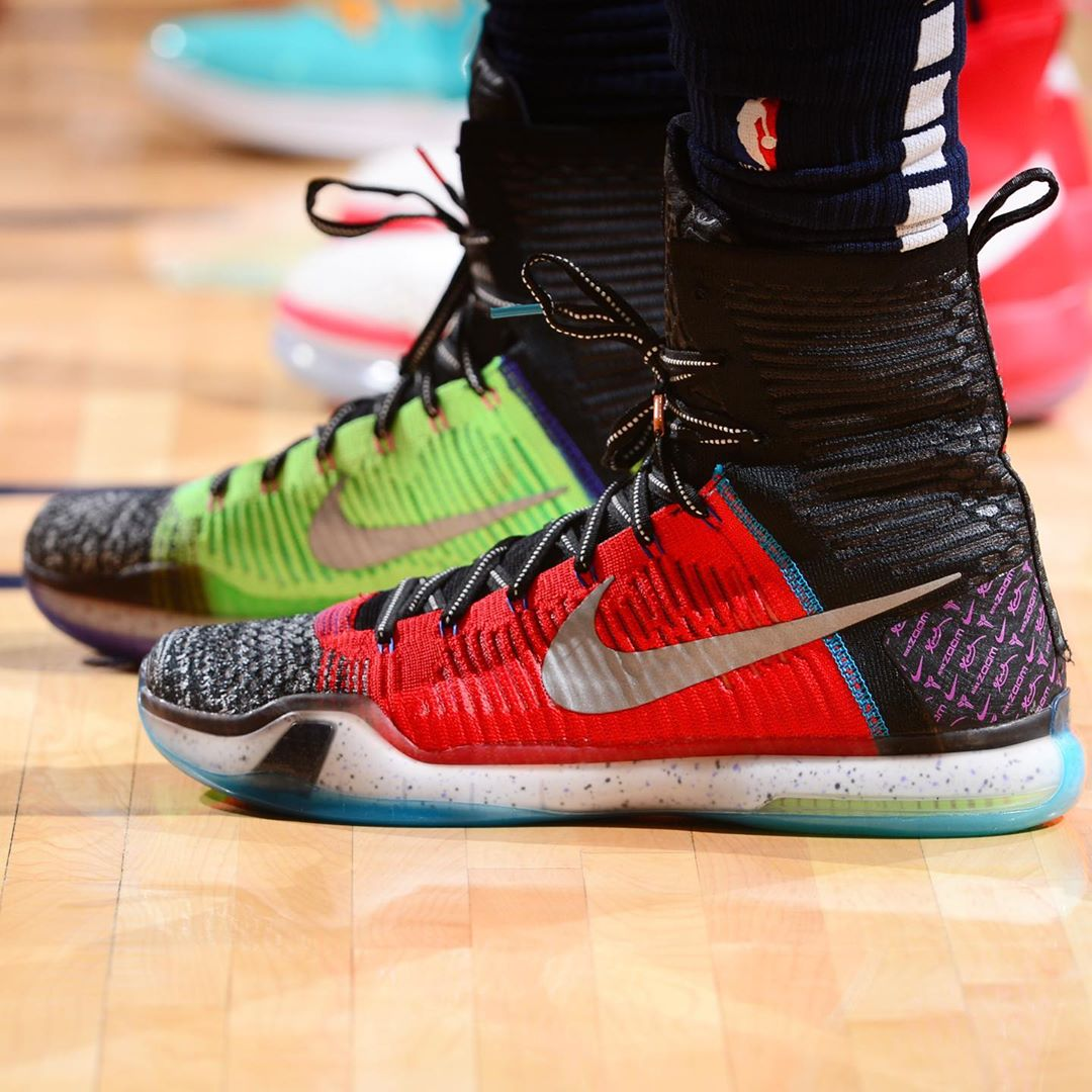 "NBA Kicks: @jeramigrant参加"" What The"" Nike Kobe 10 Elite! #NBAKicks ...  https://www.olnba.com/33653/    ."