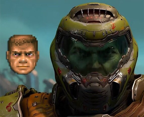 Doom On Twitter The Slayer S Visor Is Still Translucent In The