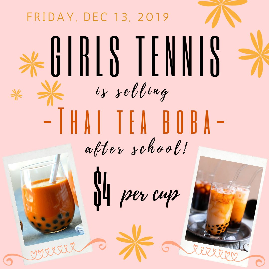 We're selling Thai tea w/ boba after school in the quad!!<br>http://pic.twitter.com/ktzjitmYJa