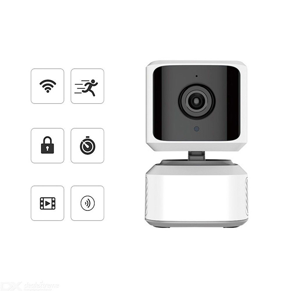 Wireless Security Camera, Indoor Home 1080P HD Surveillance IP WiFi Camera Asset Pets Monitor With IR Night Vision - White    #wireless #security #camera #indoor #home #1080P #HD #surveillance #IP #WiFi #camera #asset #sets #monitor #night #vision #white