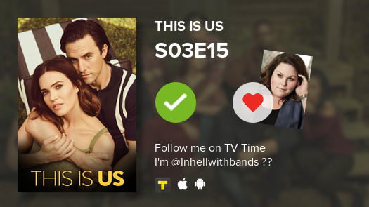 Instead of studying I watched episode S03E15 of This Is Us! #thisisus  #tvtime https://tvtime.com/r/1f4h1