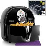 Image for the Tweet beginning: Duronic Air Fryer BLACK Oil-Free