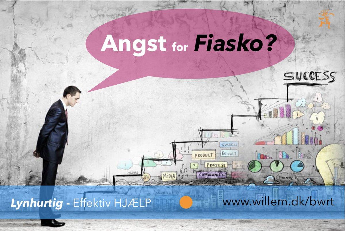 ‼️ ANGST for FIASKO? ‼️ ( http://www.willem.dk/bwrt )Jeg kan hjælpe dig med at fjerne dine blokkeringer let og elegant. Så du sikkert kan styre mod din #succesLæse mere og book din tid her: http://www.willem.dk/bwrt#angst #bwrt #fiasko #kursus #selvudvikling #business #dksund