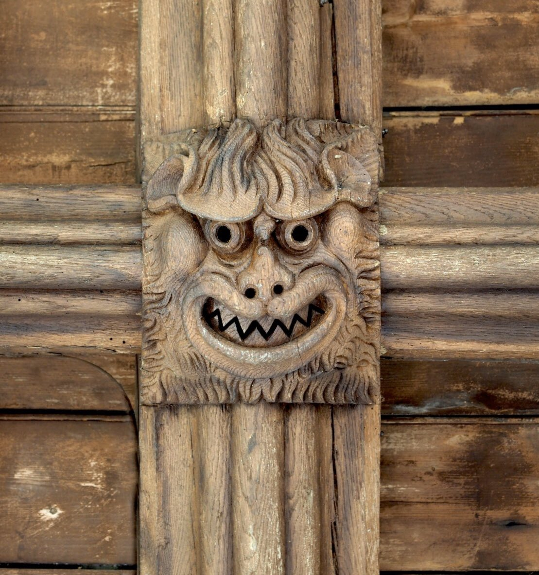 #DecemberDevils from St Mary's, Fowlmere, Cambs  (ironically, the village where our new MP comes from) <br>http://pic.twitter.com/EvmckoTmcW