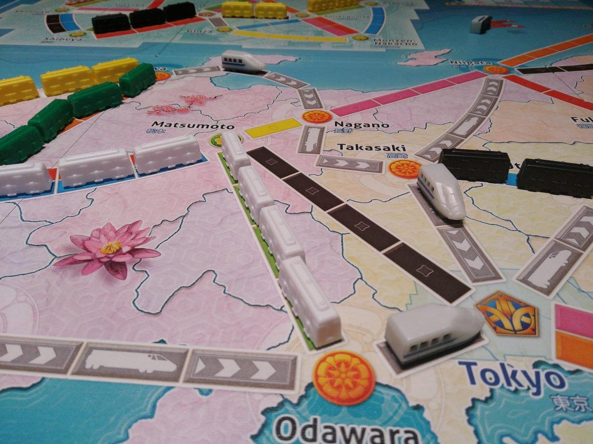 """Betote on Twitter: """"Ayer probamos los dos nuevos mapas de Aventureros al  Tren. Italia no está mal, quizá demasiado estándar y con mucho énfasis en  hacerte un recorrido norte-sur; Japón te obliga"""