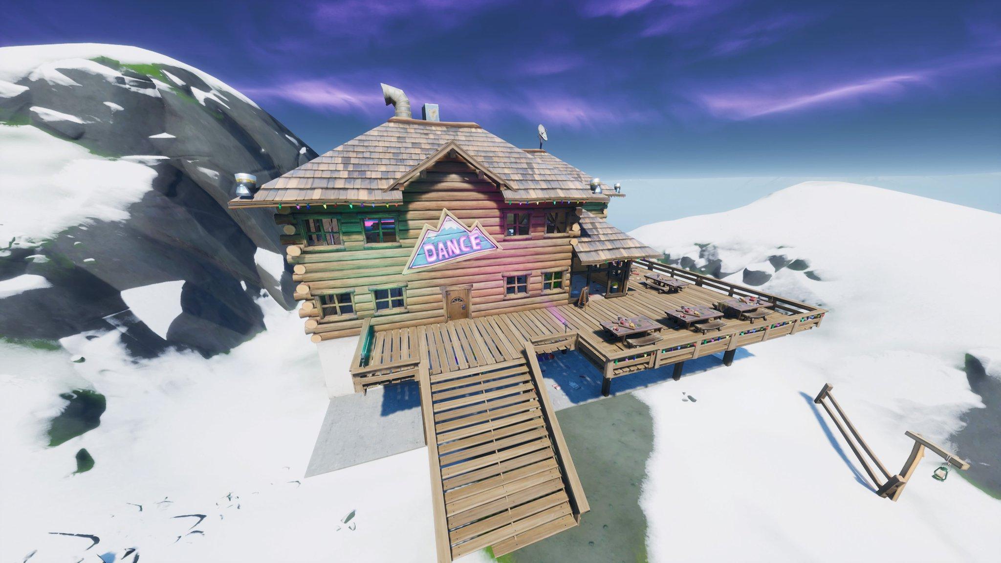 フォート ナイト アプレ スキー 場所
