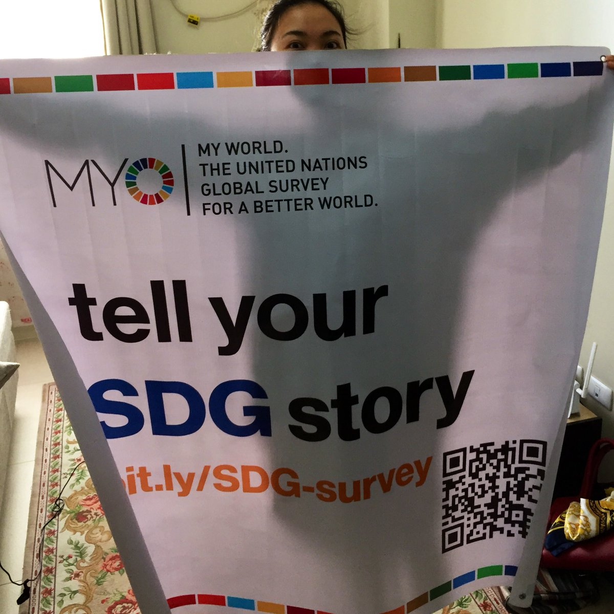 Excited to collect #MyWORLD2030 survey responses on the #SDGs at tomorrow's #IgniteMNL expo! bit.ly/SDG-survey
