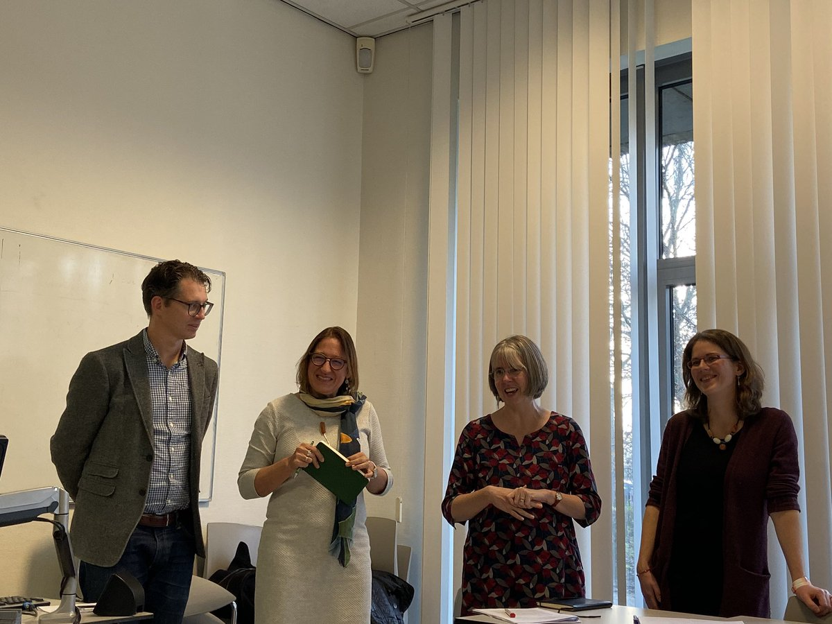 Successful panel day for the Midterm review of the @OTEuroMSc in Amsterdam. Very positive feedback, thoughtful questions and inspiring input for future developments from Ursula Costa, Claire Craig and Marine Cailleret with Mark Thomas