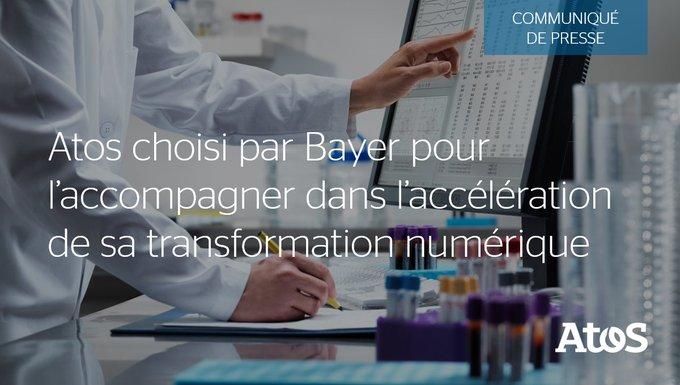 📣 Atos signe un nouveau contrat avec @Bayer pour fournir des services de #sécurité...