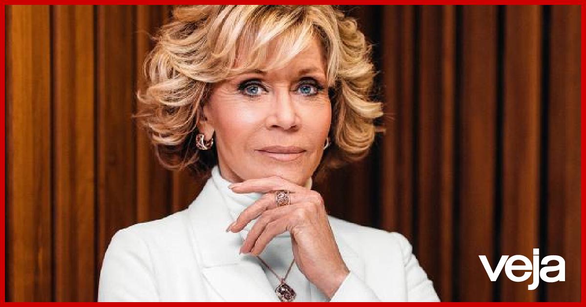 Replying to @VEJA: Jane Fonda, sobre acusação de Bolsonaro a DiCaprio: 'É patético'