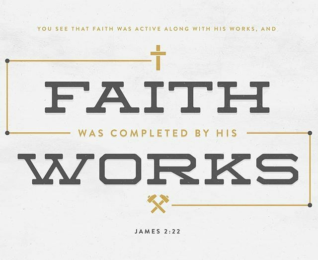 Faith will always precede works, however if you say you have faith and do not demonstrate any good works, then, my friend, your faith is dead. Have a wonderful and #BlessedFriday! <br>http://pic.twitter.com/E5f2XTHOxF