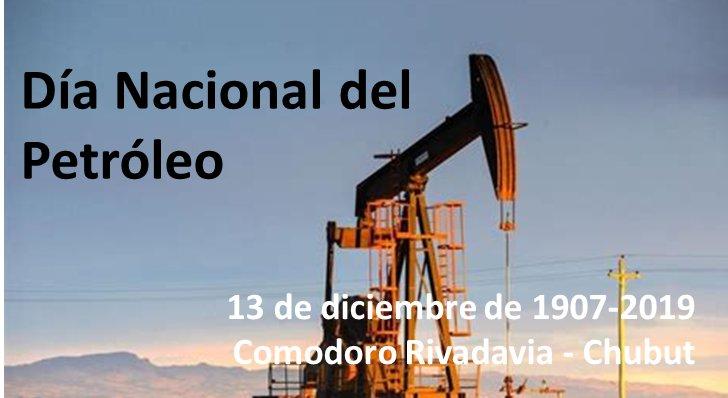 ¡Feliz Día Nacional del Petróleo a todos los comodorenses y en especial a la familia petrolera! https://t.co/haeZzfckYt