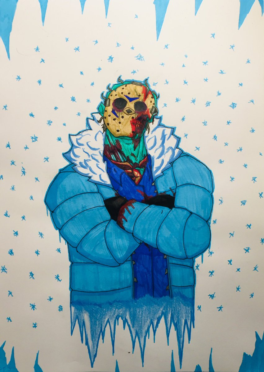 The environment has gotten cold So did his heart Happy cold #FridayThe13 #JasonVoorhees<br>http://pic.twitter.com/3pkuP2VALz