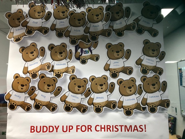 test Twitter Media - The charity pot keeps on rising. Our Buddy Up for Christmas campaign for @buddybagsuk has reached £234! #charity #teameffort https://t.co/BVfUxGQYsn