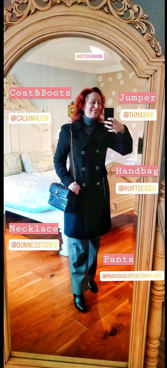 @CalvinKlein @KurtGeiger @mandsireland @TKMaxx_IE @dunnesstores #outfitoftheday Happy Friday <br>http://pic.twitter.com/16Z10OiFFe