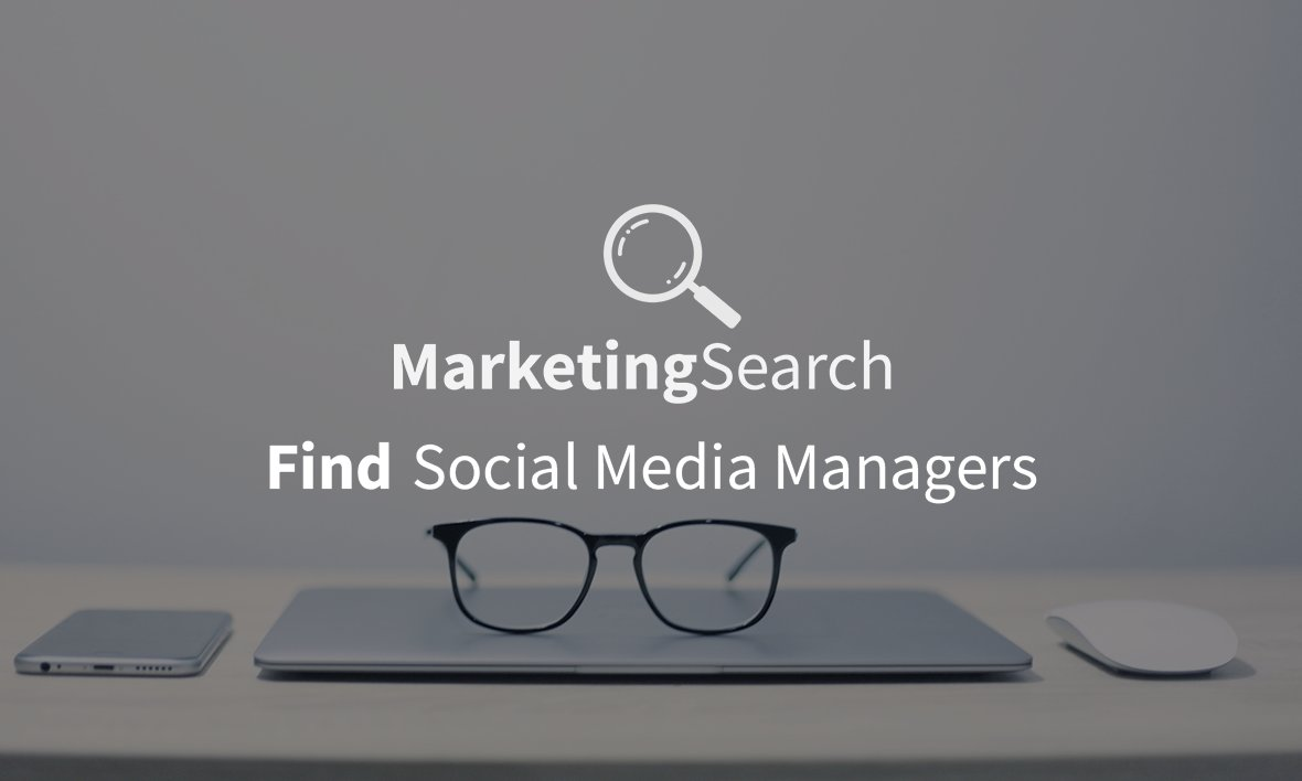 Having a social media manager means you don't need to worry about your social media. Let us help you find the perfect person for the job. Get a social media manager here >>> http://www.marketingsearch.co.uk  #SocialMediaManagers #SocialMediaManagers #SocialMediapic.twitter.com/Vag23NgBee