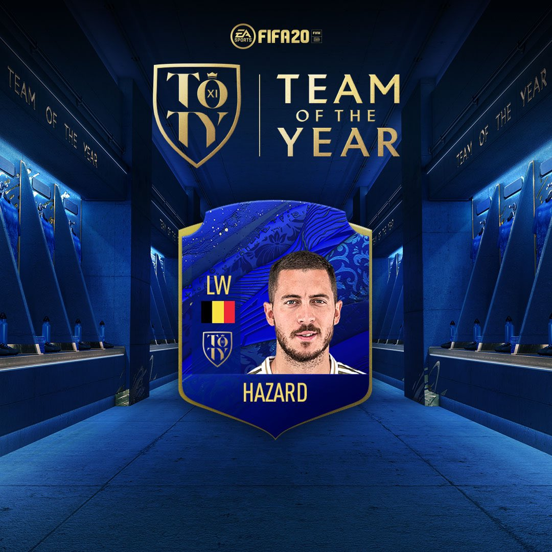 My friends... Its great to be nominated, please choose me for your #TOTY !!! 🗳Vote for the @EASPORTSFIFA #FIFA20 #TOTY here 👉🎮