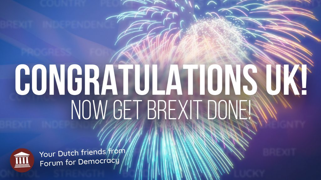test Twitter Media - Fantastisch nieuws! Britten kiezen voor vrijheid en economische groei! Wij blijven achter in EU van geldsmijters in zuid-Europa, corrupte Balkanlanden en tiranniek Brussels bestuur dat dwingt tot massale immigratie en hysterisch klimaatbeleid. Steun #FVD! https://t.co/gdASySXUlo https://t.co/KNKRlJoTUa